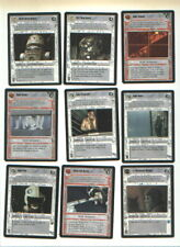 Star Wars CCG CHEWBACCA card + 107 others collectible card game