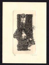 39)Nr.142-EXLIBRIS- Henryk Fajlhauer, signiert, Auflage 4/95, C2 - Kupferstich