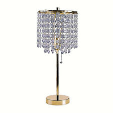 ORE International Deco Glam 20.25 in. Gold Table Lamp