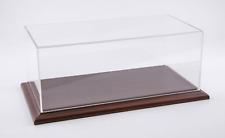 ATLANTIC DISPLAY 10061 CASE 1:12 SCALE MODEL DISPLAY CASE (MAHOGANY WOOD BASE)