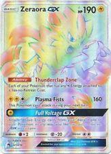 Pokemon ZERAORA GX 221/214 HYPER SECRET RARE MINT CARD  LOST THUNDER