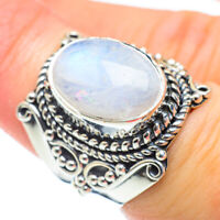 Rainbow Moonstone 925 Sterling Silver Ring Size 7 Ana Co Jewelry R51919F
