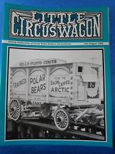 Little Circus Wagon 1988 July August Circus Model Builders International