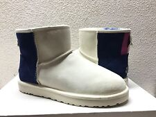 UGG CLASSIC MINI PRIX ANTIQUE WHITE BOOTS US 11 / EU 42 / UK 9.5 -NIB