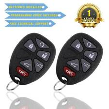 2 For 2007 2008 2009 2010 2011 2012 2013 Chevy Tahoe OUC60270 Remote Key Fob
