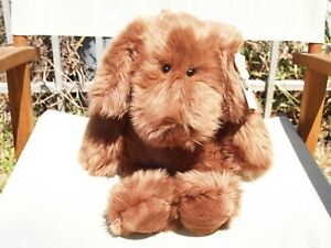 """VINTAGE GUND - LARGE BARKUS PUPPY DOG - 17"""" - #1352- 1991 - VERY NICE - ALL TAGS"""