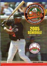 Jason Johnson 2005 Long Island Ducks Team Schedule