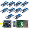 10pcs 5V 1A TP4056 Micro USB Charger Module 18650 Lithium Battery Charging