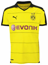Puma BVB Home replic Maillot Homme Jaune FR L Taille Fabricant