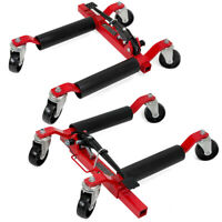 Set of 2 Car Truck 2500lb Vehicle Positioning Wheel Dolly Moving Auto Tire Lift