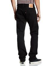 Levi's Mens 501 Original Fit Jeans 30 32 Black