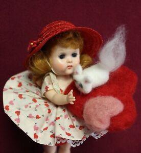 VOGUE Ginny Auburn BKW Valentine Doll w/ Kitty Friend