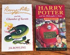 Harry Potter JK Rowling 2 Books Chamber Of Secrets The Philosopher's Stone