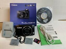 Canon PowerShot SX280 HS 12.1MP Digital Camera - Black - Great Condition
