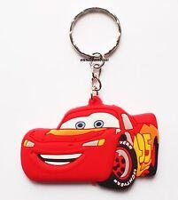 Cars Lightening McQueen Keyring Bagcharm Keychain Zip puller Rubber PVC Uk Stock