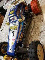Vintage Tamiya The Fox, Originally From Japan, Tires NOT Glued, Nice Body