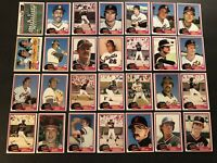 1981 Topps SAN FRANCISCO GIANTS Complete TEAM Set  Jack CLARK Vida BLUE Free/Sh