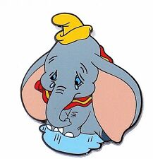 New LE RARE Disney Pin✿Small World SIGNED Dumbo Baby Elephant Tears Crying Sad