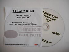 STACEY KENT : SAMBA SARAVAH ( RADIO EDIT ) [ CD SINGLE ] ~ PORT GRATUIT !