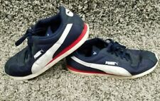 PUMA Mens Shoes Blue Red White Size 14 Used