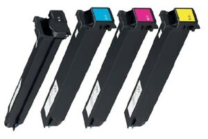 4 x Toner für CANON Bizhub C452 / C552 / C652 / komp. zu TN-613 Cartridges XXL
