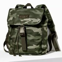 New Justice Green Camoflage Camo Mini Backpack Purse
