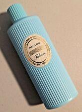 Vintage 1960s Revlon Aquamarine TALCUM 4 oz NOS - NEW --  1682