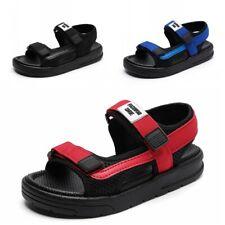 Boys Open Toe Sport Sandals Soft Kids Anti Slip Beach Shoes Summer Outdoor 39 B
