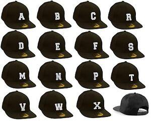 Casual  Baseball Cap Caps adjustable Snapback letter A-Z Alphabet