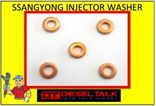 SSANGYONG ACTYON DIESEL INJECTOR WASHER KIT. 6650170060. PACK OF 5