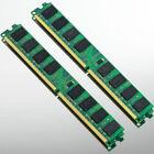 High Density 4GB 2x2GB PC2-6400 DDR2 800 800MHZ 240Pin Desktop Memory DIMM RAM