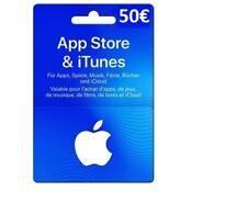 APP Store & iTunes Gutscheincode 50€