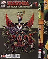 DEADPOOL & THE MERCS FOR MONEY #1,2,3,4,5 Marvel Comics X-Men MO MERCS MO MONKEY