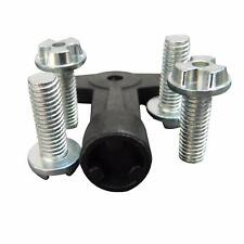 Alloy Wheel Centre Cap Screws Bolts with Key OE: 7700422600 for Renault