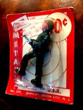 Barclay - Lead Toy Dime Store Pad Foot Soldier - Soldier with Flamethrower