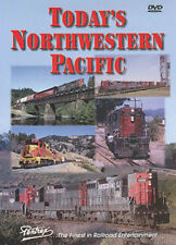 Today's Northwestern Pacific Railroad DVD Pentrex Suisun Willits Petaluma NWP