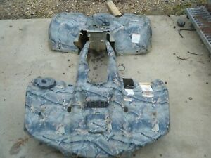 SUZUKI 750 KING QUAD ATV OEM FENDERS ( CAMO )  P421 2013