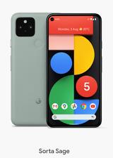 Google Pixel 5 5G Sorta Sage (Faint Green) - Unlocked - 2020 Australian Model