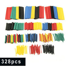 328X Heat Shrink Polyolefin Tubing Tube Sleeve Wrap Wire Assortment 8 Sizes