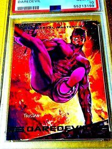 1993 MARVEL MASTERPIECES #22 DAREDEVIL LIMITED Trading Comics Card PSA 10 POP 8