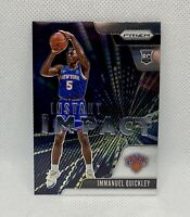 🔥2020-21 Panini Prizm Immanuel Quickley Instant Impact Rookie #20 Knicks RC