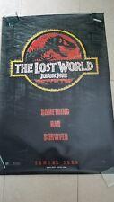 Jurassic Park The Lost World movie poster  - original 1997 poster