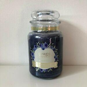 Yankee Candle ~ BLUEBERRY ~ 22oz Large Jar *Free Expedited Shipping*