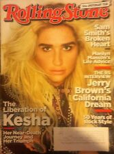 Kesha Rolling Stone Magazine October 19 2017 Marilyn Manson Sam Smith Jery Brown