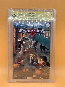 DC Comics Super Sons #1 Unkown Comics Catwoman Variant Signed CBCS 9.6 White Pg