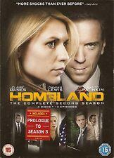 HOMELAND - Series 2. Damian Lewis, Claire Danes (4xDVD SLIM BOX SET 2013)