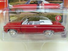 JOHNNY LIGHTNING WHITE LIGHTNING CHEVY HIGH PERFORMANCE 1969 IMPALA CONVERTIBLE