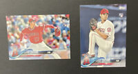 Lot of 2 - 2018 Topps Rookie #700 (2) Shohei Ohtani RC
