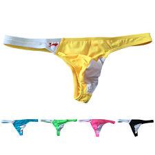 Mens Swimwear Beach casual Bikini Swimming Briefs Mankini soft Thong Jockstrap