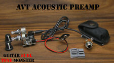 TONE MONSTER AVT Acoustic Preamp Volume Tone Guitar Bass Mandolin Ukulele